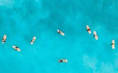Las mejores playas de España para aprender surf